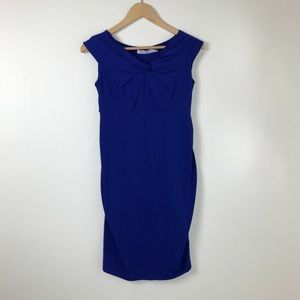 Dresses & Skirts - Jules and Jim Royal Blue Maternity Dress Small